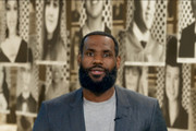 In this screengrab, LeBron James speaks during Graduate Together: America Honors the High School Class of 2020 on May 16, 2020 in UNSPECIFIED, United States.