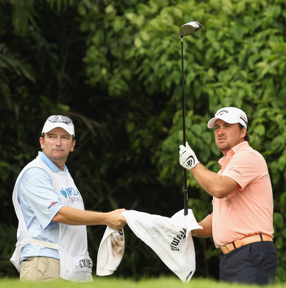 ... Barclays Singapore Open at Sentosa Golf Club on November 14, 2010 in