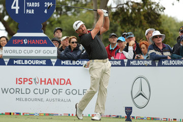 Graeme McDowell ISPS Handa World Cup of Golf - Day 3