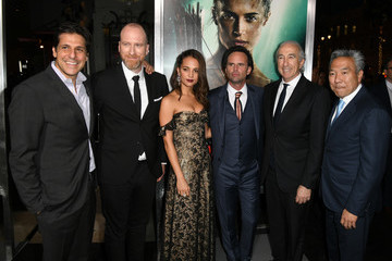 Graham King Premiere Of Warner Bros. Pictures' 'Tomb Raider' - Red Carpet