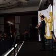 Graham Moore 87th Annual Academy Awards Press Room