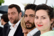 (L-R) Actor Denis Menochet, Lea Seydoux, actor Tahar Rahim and director Rebecca Zlotowski attends the 'Grand Central' Photocall during The 66th Annual Cannes Film Festival at Palais des Festivals on May 18, 2013 in Cannes, France.