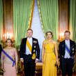 Grand Duchess Maria Teresa Of Luxembourg King And Queen Of The Netherlands Visit Luxembourg: Day One