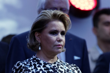 Grand Duchess Maria Teresa Of Luxembourg Luxembourg Celebrates National Day : Day 1