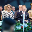 Grand Duchess Maria Teresa Of Luxembourg Luxembourg Celebrates National Day : Day One