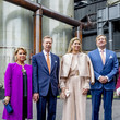 Grand Duchess Maria Teresa Of Luxembourg King And Queen Of The Netherlands Visit Luxembourg : Day Two