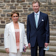 Grand Duke Henri Of Luxembourg Baptism Of Prince Charles Of Luxembourg At L'Abbaye St Maurice De Clervaux