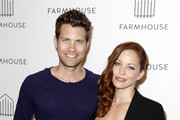 Amy Paffrath and Drew Seeley attend the grand opening of FARMHOUSE Los Angeles on March 15, 2018 in Los Angeles, California.