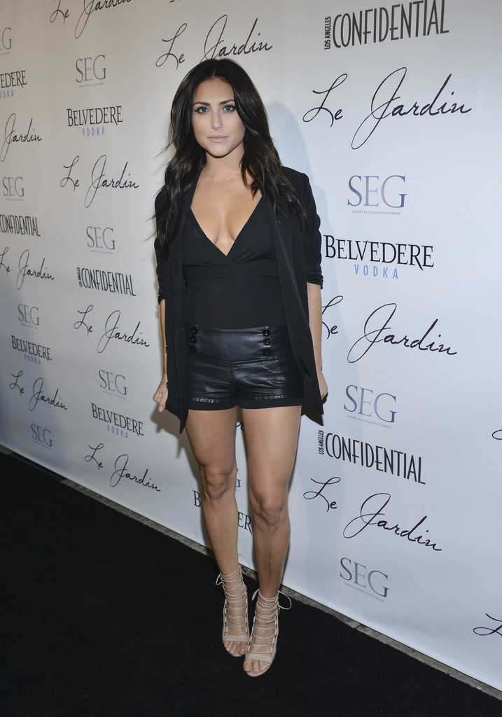 Cassie Scerbo Photos Photos - Grand Opening Of Le Jardin ...