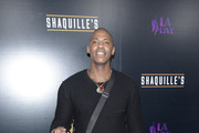 Mehcad Brooks attends the grand opening of Shaquille's At L.A. Live at LA Live on March 09, 2019 in Los Angeles, California.