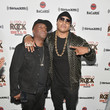 Grandmaster Flash LL COOL J Celebrates the Launch of His Exclusive SiriusXM Channel 'Rock The Bells Radio' At World On Wheels In Los Angeles