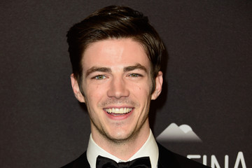 Grant Gustin 2016 InStyle and Warner Bros. 73rd Annual Golden Globe Awards Post-Party - Arrivals