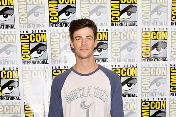 Grant Gustin Comic-Con International 2017 - 'The Flash' Press Line