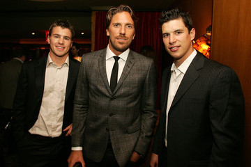 Henrik Lundqvist Sidney Crosby Graydon Carter Hosts a Cocktail Party for the Rising Stars of the NHL