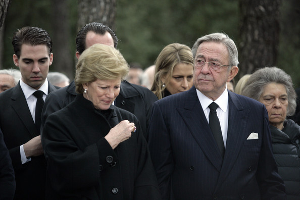 King Constantine Of Greece
