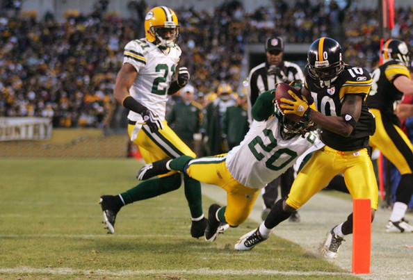 Green Bay Packers v Pittsburgh Steelers. In This Photo: Atari Bigby,