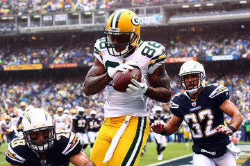 Steve Gregory Green Bay Packers v San Diego Chargers