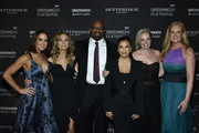 Wendy Stapleton, Kathie Lee Gifford, Bobby Walker Jr., Eva Longoria Baston, Ginger Stickel, and Colleen deVeer attend The Greenwich International Film Festival 5th Annual Changemaker Gala Honoring Eva Longoria Baston and Local Changemaker Bobby Walker at  L'Escale on May 30, 2019 in Greenwich, Connecticut.
