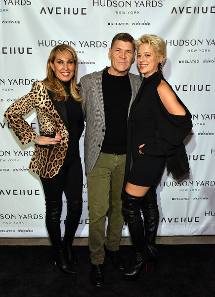 AVENUE Magazine Relaunch Event At 35 Hudson Yards, NYC
