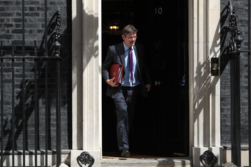 Greg Clark Cabinet Ministers Attend The Final Meeting Before The Summer Recess