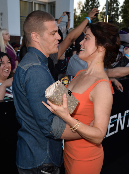 Bellamy Young and greg finley