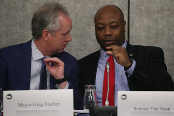 Greg Fischer Annual U.S. Conference Of Mayors Held In D.C.