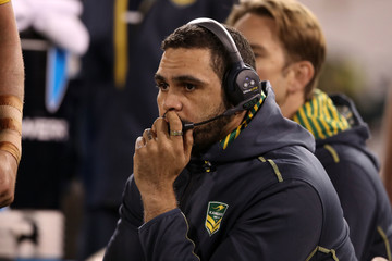 Greg Inglis Australia v New Zealand - ANZAC Test