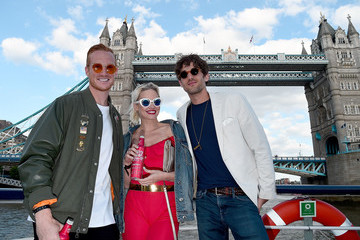 Greg Rutherford The Budweiser Boat World Cup Launch Party
