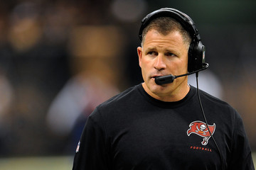 Greg Schiano Tampa Bay Buccaneers v New Orleans Saints