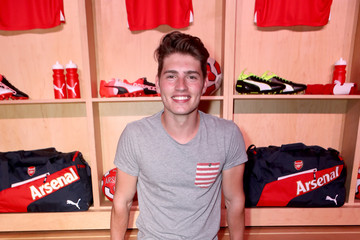 Gregg Sulkin PUMA and Arsenal Football Club 2016/17 AFC Away & Third Kit Reveal Event