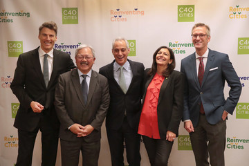 Gregor Robertson Ed Lee Chicago Hosts Mayors at North American Climate Summit