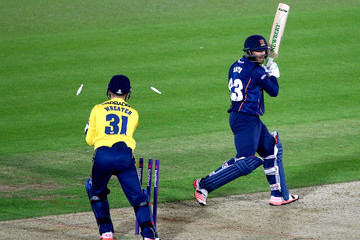 Gregory Smith Hampshire v Essex: NatWest T20 Blast
