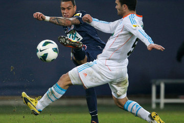 Gregory van der Wiel Paris Saint-Germain FC v Marseille Olympic OM - French Cup
