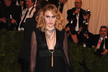 Greta Gerwig Red Carpet Arrivals at the Met Gala