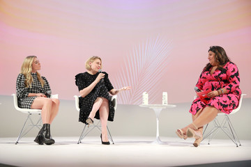 Greta Gerwig Florence Pugh The Teen Vogue Summit 2019: On-Stage Conversations And Atmosphere