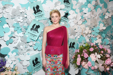 Greta Gerwig Tiffany & Co. Paper Flowers Event And Believe In Dreams Campaign Launch