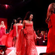 Gretchen Carlson The American Heart Association's Go Red For Women Red Dress Collection 2020 - Runway