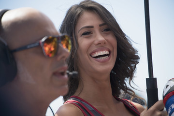 Grid Girl MotoGP Netherlands - Race