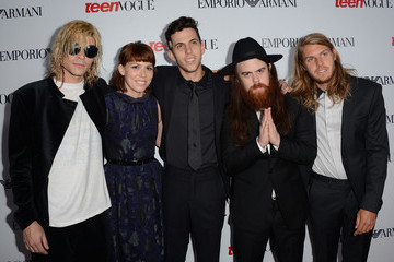 Grouplove Teen Vogue's 10th Anniversary Annual Young Hollywood Party - Arrivals