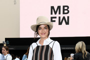 Marie Nasemann poses at the GrowHouses Reception during the Berlin Fashion Week Spring/Summer 2020 at ewerk on July 02, 2019 in Berlin, Germany.