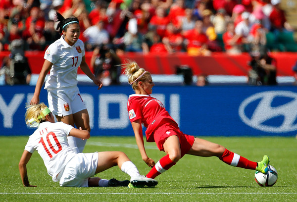 Canada v China PR: Group A - FIFA Women's World Cup 2015