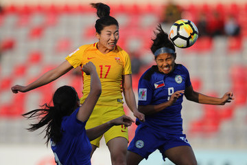 Gu Ya Sha Philippines v China - AFC Women's Asian Cup Group A