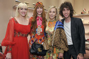 (L-R) Rosson Crow, Faith Picozzi, Paige Powell and Filip Milenkovic attend Gucci's celebration of the Release of Paige Powell In LA on May 16, 2019 in Beverly Hills, California.