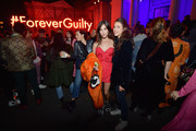 Rainey Qualley (L) and Margaret Qualley attend Gucci Guilty Launch Party at Hollywood Forever on November 2, 2018 in Hollywood, California.