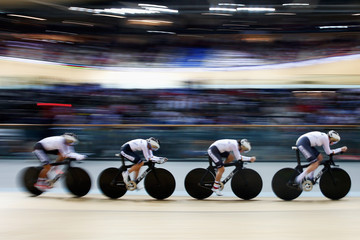 Gudrun Stock UCI Track Cycling World Championships: Day 2