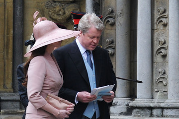 Charles Spencer Royal Wedding Arrivals