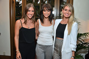 Molly Thompson, Co-Founder Kind Campaign, Cara Santana and Lauren Paul, Co-Founder Kind Campaign attend the KEEP Collective Accessories Social To Benefit The Kind Campaign on August 25, 2015 in Los Angeles, California.