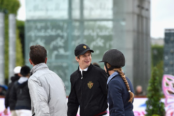 Guillaume Canet Paris Eiffel Jumping Presented By Gucci - Day 3
