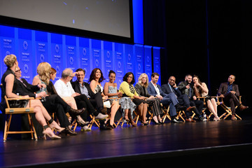 Guillermo Diaz Darby Stanchfield The Paley Center for Media's 33rd Annual PaleyFest Los Angeles - 'Scandal' - Inside