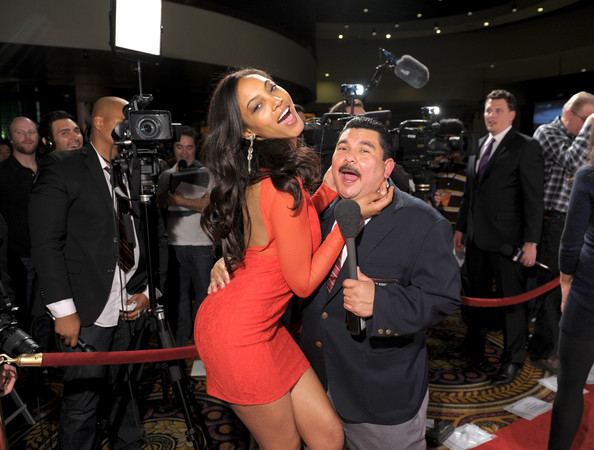 Club SI Swimsuit Hosted By PURE Nightclub At Caesars Palace [event,fashion,flooring,carpet,premiere,room,red carpet,little black dress,ariel meredith,guillermo rodriguez,club si swimsuit,caesars palace,las vegas,nevada,pure nightclub,si,pure nightclub]